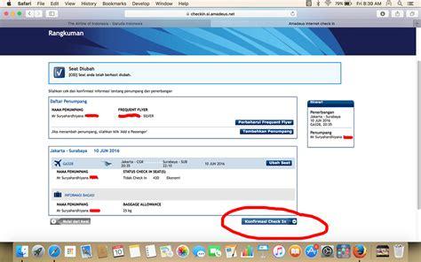 email garuda indonesia panduan web check in garuda indonesia blog surya hardhiyana