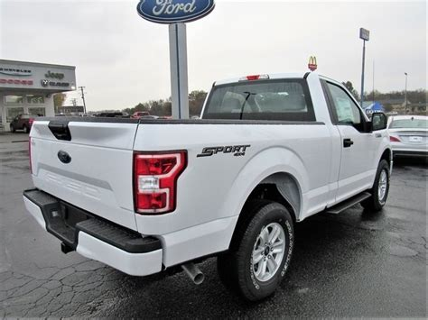 2018 ford f150 regular cab new 2018 ford f 150 xl regular cab sport 4x4 for