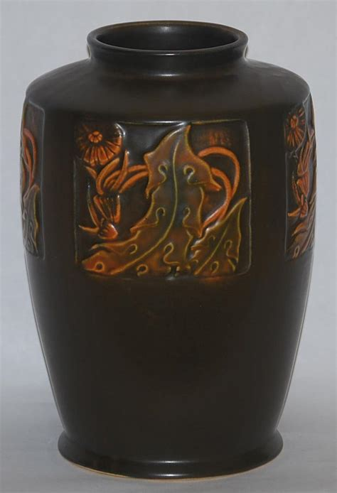 Roseville Vase Value by Roseville Pottery Rosecraft Panel Vase For Sale Antiques Classifieds