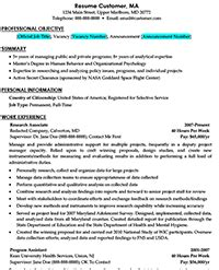 federal resume exle administrative assistant costa