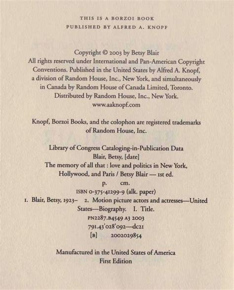 libro the politics of memory betsy blair