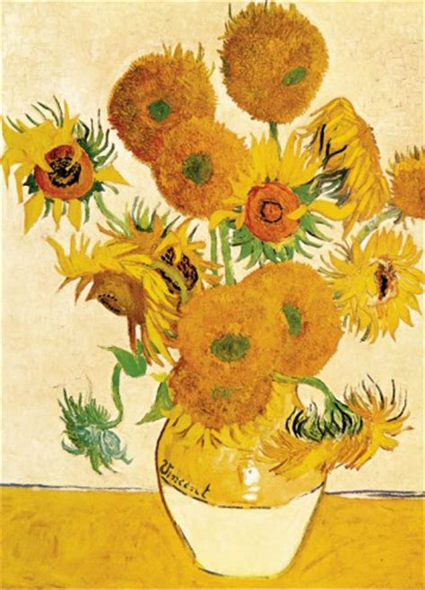 Fourteen Sunflowers In A Vase by Vincent Gogh Fourteen Sunflowers In A Vase 1888 2
