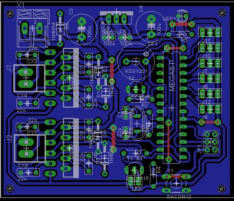 applied electronics design pcb layout tweenbot project 1 electronics pcb design