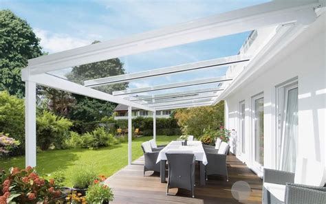 glass patio awning weinor terrazza glass extensions roch 233 awnings