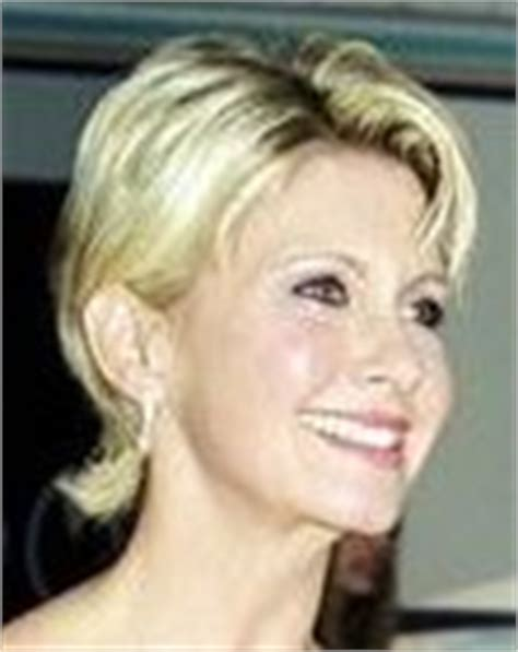 olivia newton john hairstyles photos of short celebrity haircuts