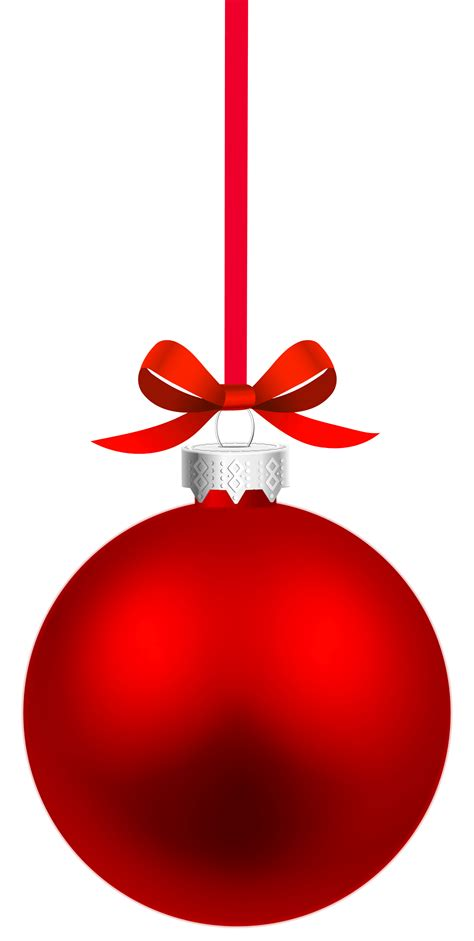 free christmas baubles png png clipart