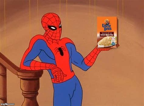 Spiderman Rice Meme - meme template search imgflip