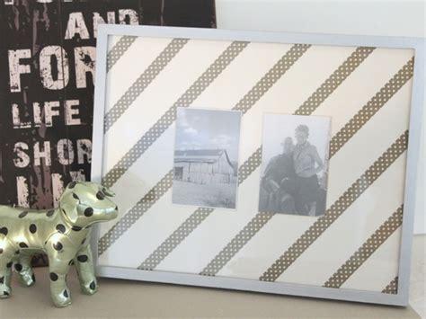 diy picture matting diy washi tape photo frame mats