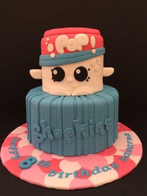 Shopkins Cake Topper Shoppin shopkins cake with soda pop and a shopping bag bake