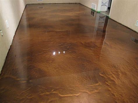 Copper Metallic Epoxy Floor   Epoxy Overlay Concrete Floor