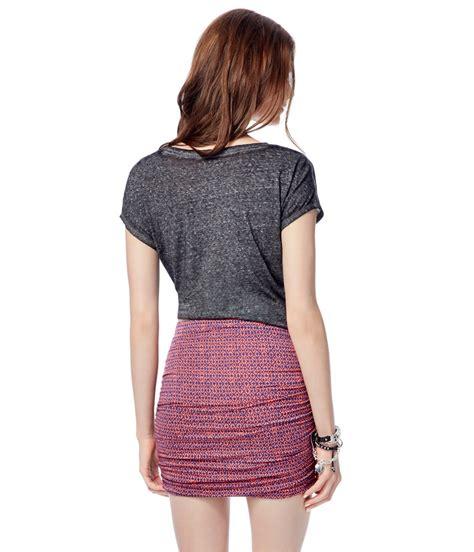 Mini Dress Batik Bodycon Hersya aeropostale womens batik bodycon mini skirt ebay