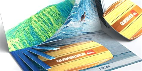Quiksilver Gift Card - design packaging quicksilver wave gift card concept design packaging inc