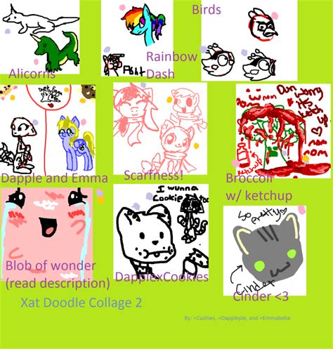 doodle chat xat chat doodle collage 2 by perry on deviantart