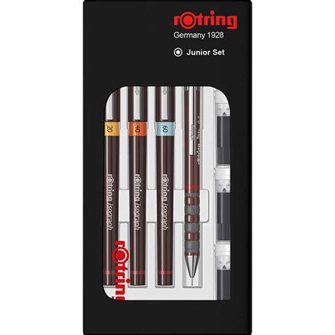 Rotring Rapido Set 0 1 rotring isograph rapido kalem seti 0 2 0 4 0 6 tikky 0 5