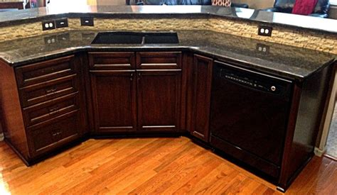 Midwest Home Remodeling Design by Coffee Brown Granite Transitional Kitchen Kansas