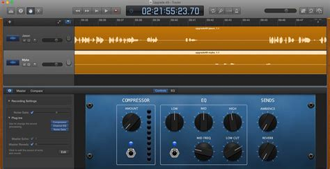 use ins in garageband to improve podcast sound six