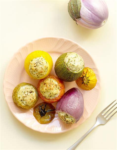 cuisine legumes petits l 233 gumes farcis au poulet pour 4 personnes