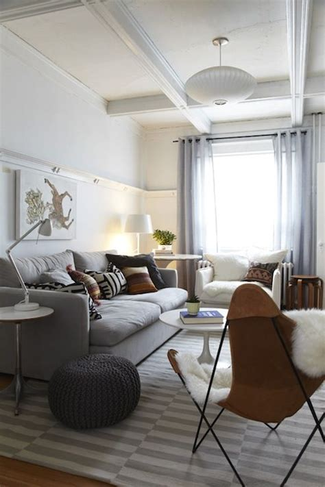 living room modern home with gray living room also with 26 ways to use ikea stockholm rug for home decor digsdigs