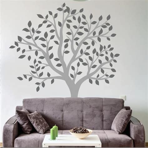 Living Room Wall Decal Tree Large Tree Wall Decal Wallboss Wall Stickers Wall