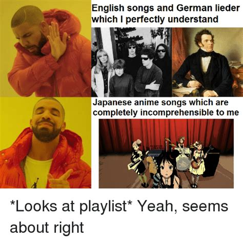 anime japanese or english english songs and german lieder japanese anime songs which