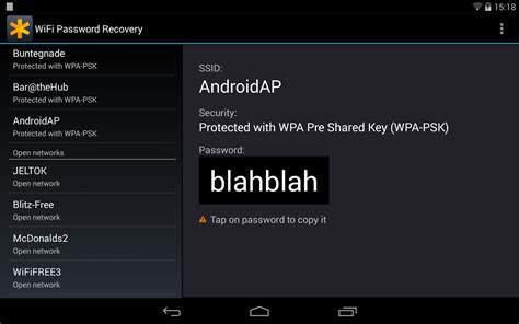 how to show wifi password on android wifi passwords recovery pro android apps on play