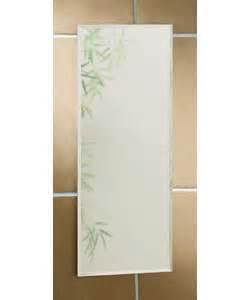 narrow bathroom mirrors bathroom mirrors argos value range flat narrow mirror p