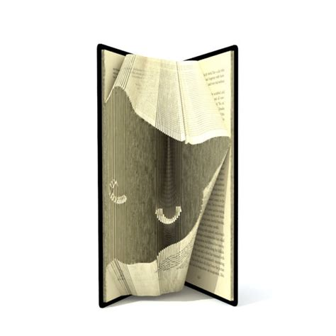 book folding pattern bunny head pattern to create your own book folding pattern cats head 155 folds tutorial with