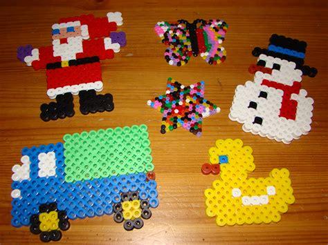 bead boys hama 3 and a gluestick