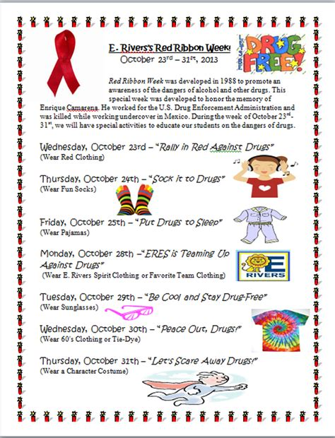 nurses week flyer templates ribbon week flyer includes rationale dress up spirit attire and themes school