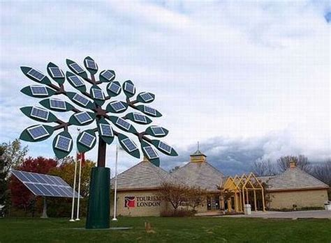 solar power tree five creative sculptures designed to run on solar energy