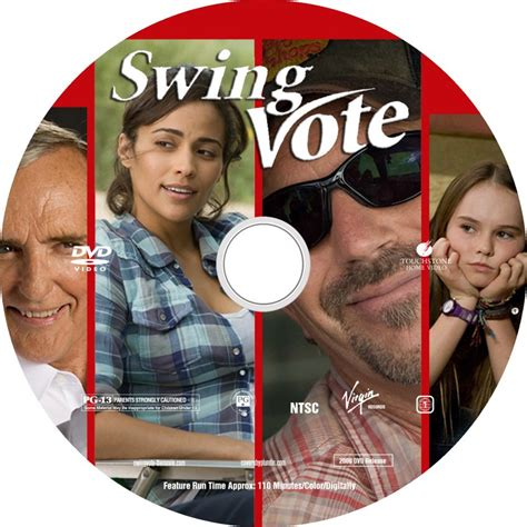 swing vote free online swing vote custom dvd labels swing vote label dvd