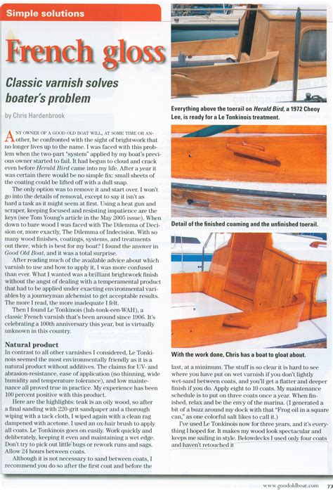 good old boat articles case studies