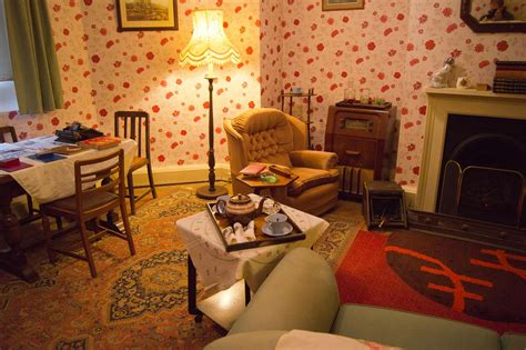 is livingroom one word 1940 s living room hughenden manor derek winterburn