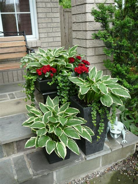 Summer Planters Ideas by Shade Planters Summer Outdoor Ideas