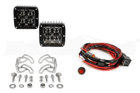 rigid d2 fog lights rigid industries d2series light hyperspot pair 50471