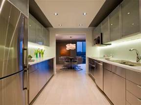corridor kitchen design ideas galley kitchen remodel ideas hgtv