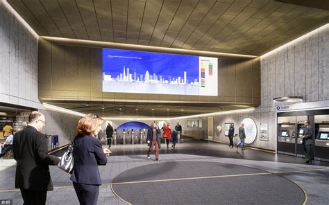 design museum london underground station london tube station of the future revealed daily mail online