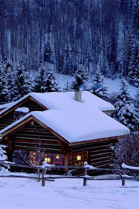 colorado log cabin homes log cabin winter scenes log home casa di montagna innevata festivita sfondi per cellulare