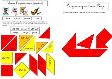 Tangram Ce1 Blog De Monsieur Mathieu Gs Cp Ce1 Ce2 Cm1