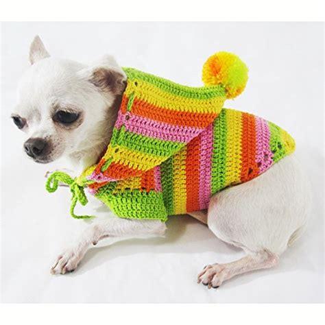 crochet pattern for xxs dog sweater free xxs crochet dog sweater pattern dancox for