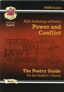 new gcse english literature 1782943617 new gcse english literature aqa poetry guide power conflict anthology for the grade 9 1