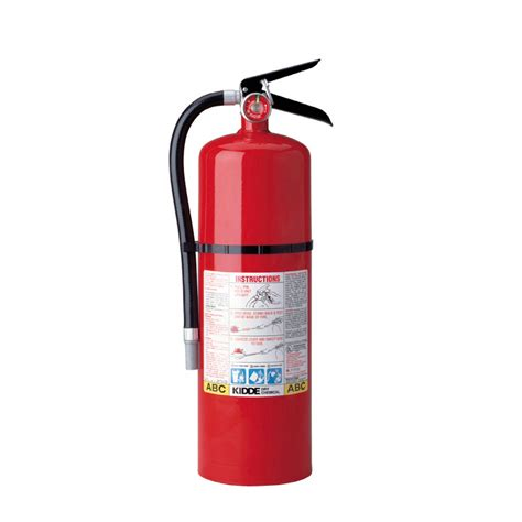 shop kidde pro 10 tcm abc extinguisher at lowes