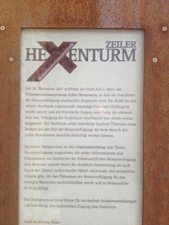 zeil hexenturm am angstloch bild von hexendokumentationszentrum