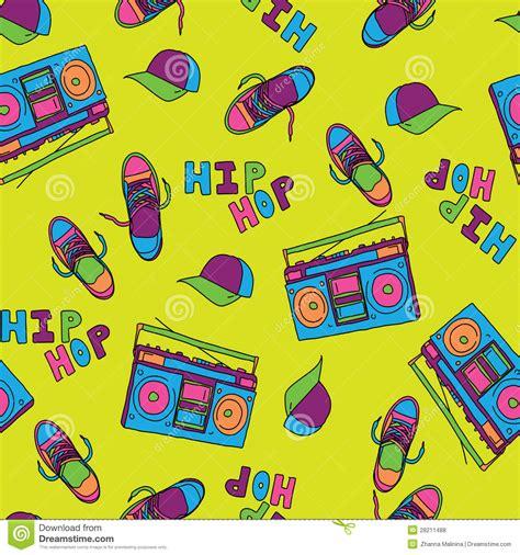 hip hop beatbox pattern hip hop music seamless pattern royalty free stock photos