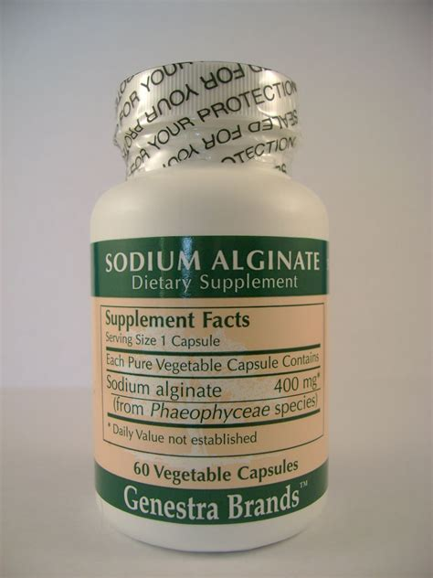 Sodium Alginate Detox by Sodium Alginate
