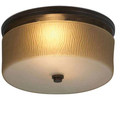 Bathroom Light Fan Shop Allen Roth 1 5 Sone 90 Cfm Rubbed Bronze Bathroom Fan With Room Light At Lowes
