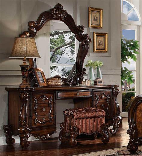 cherry oak vanity set ac  bedroom vanity sets