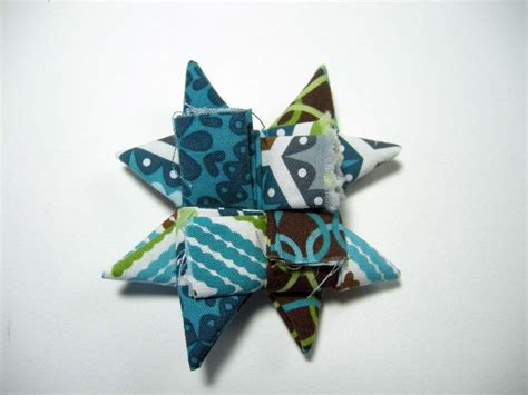 Folded Paper Ornament Pattern - fabric ornament tutorial betz white