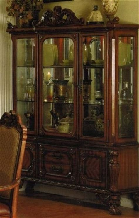 china cabinet with legs china cabinet buffet hutch with ball claw legs in cherry