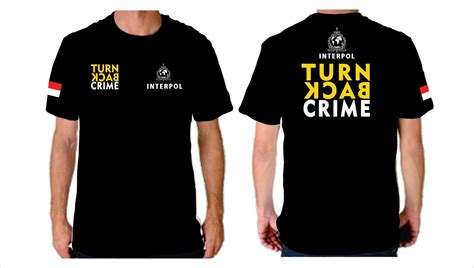 Tshirt Turn Back Crime 3 turn back crime grosir baju batik grosir kaos polo